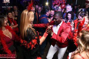 Cinquantesimo compleanno tema burlesque - ballerino cubano - Party Planner Sara Fiorito