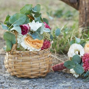 Flower design per damigelle e testimoni - Wedding planner Sara Fiorito